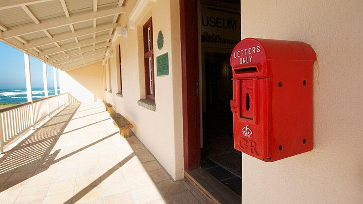 Cape Agulhas, Briefkasten