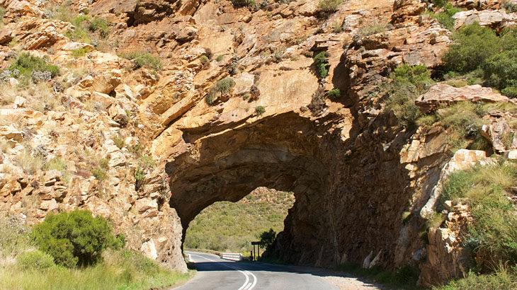 Kleine Karoo, Winelands,Monatgu, Kogmanskloof, Pass