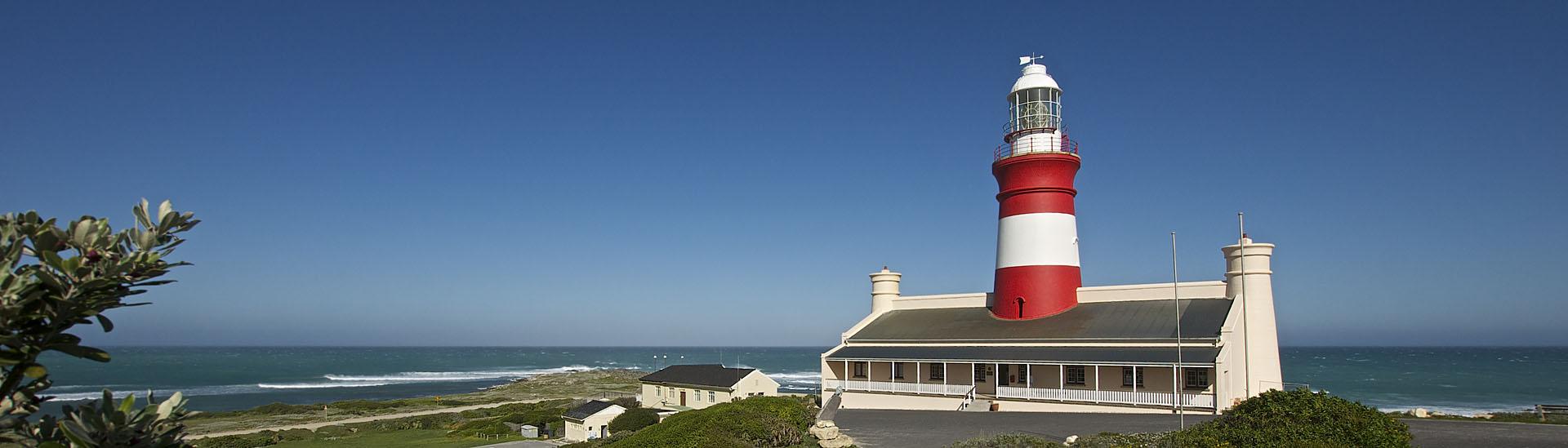 Leuchtturm, Cape Agulhas, Overberg, Garden Route Tour