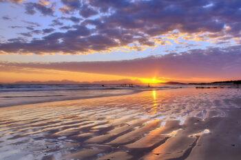 Somerset West, Sonnenuntergang, Strand, Beach