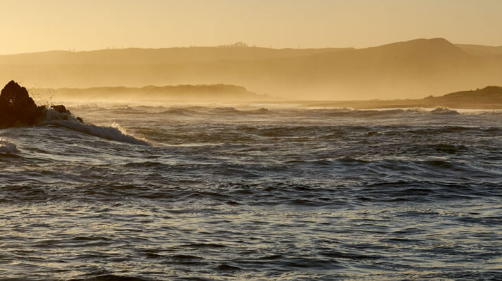 Garden Route, Sonnenuntergang, Brenton on Sea